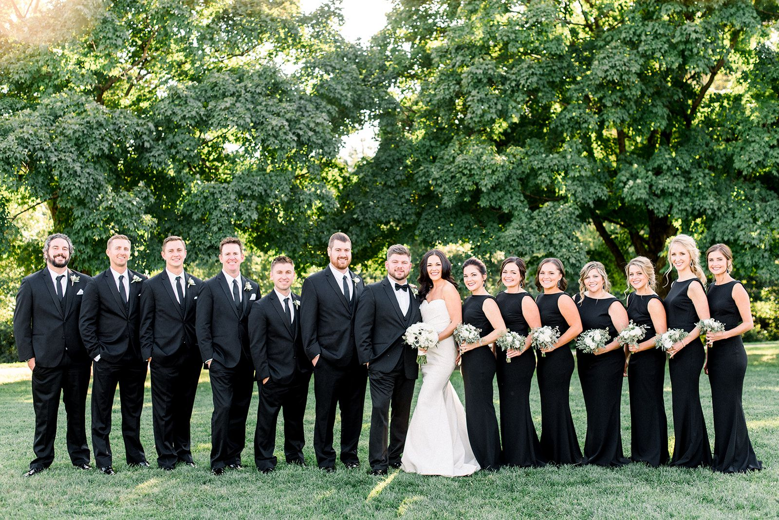 Black And White Wedding Party Black And White Wedding Theme White Wedding Theme Wedding [ 1068 x 1600 Pixel ]