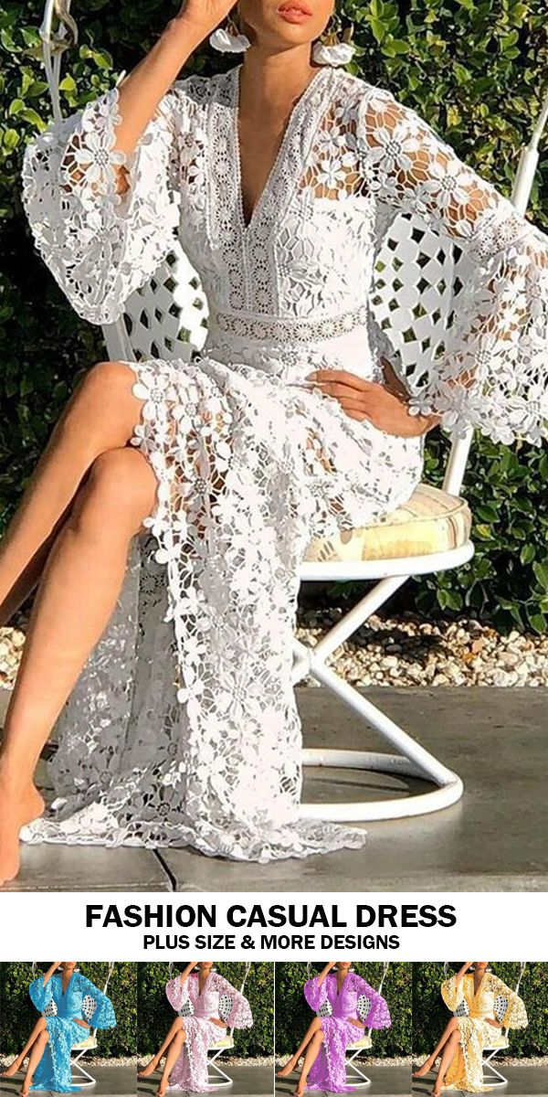 Sexy V-neck Halter Slim Print Dress