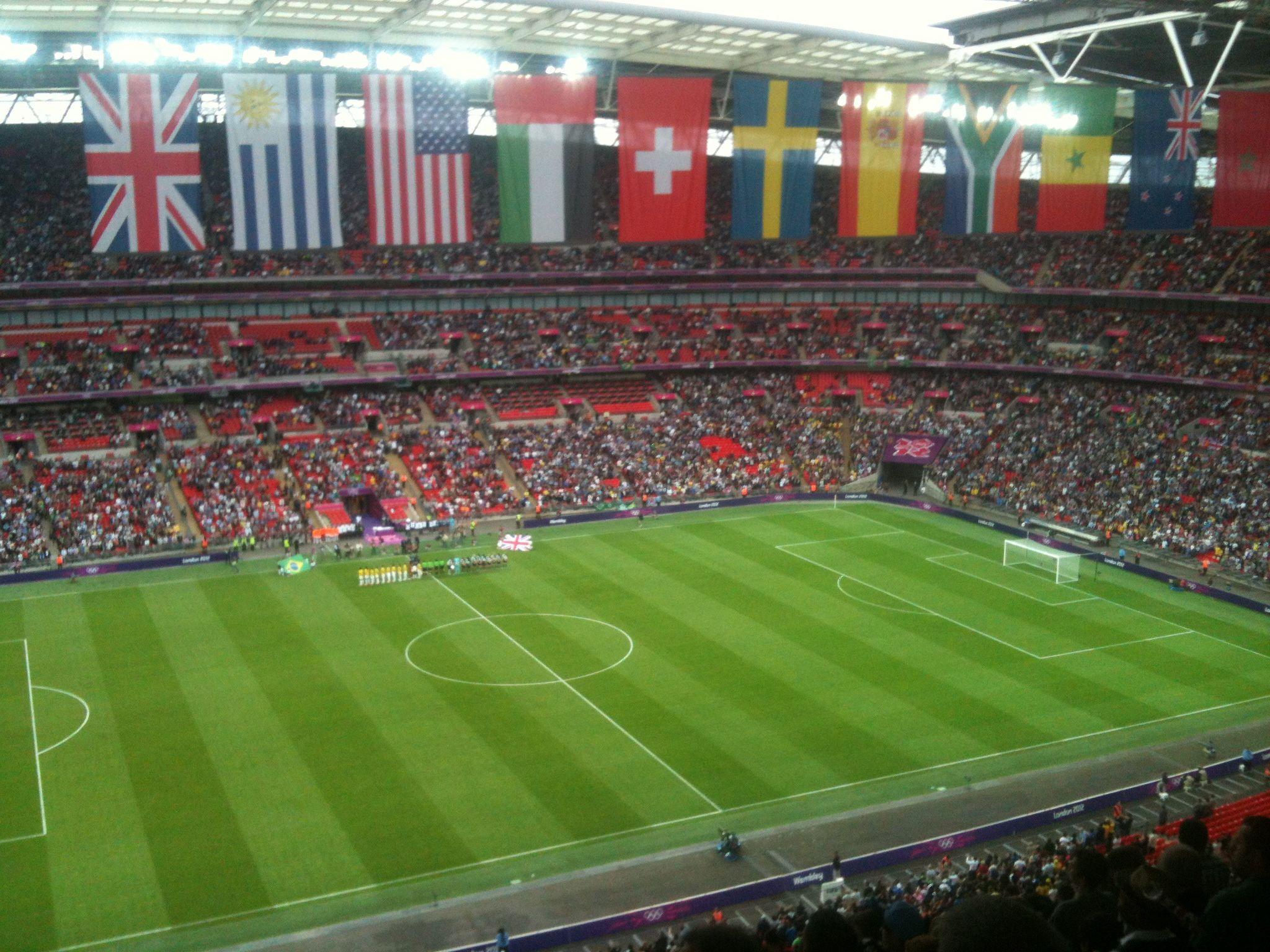 Olympic football at Wembly | Olympic football, Olympics ...