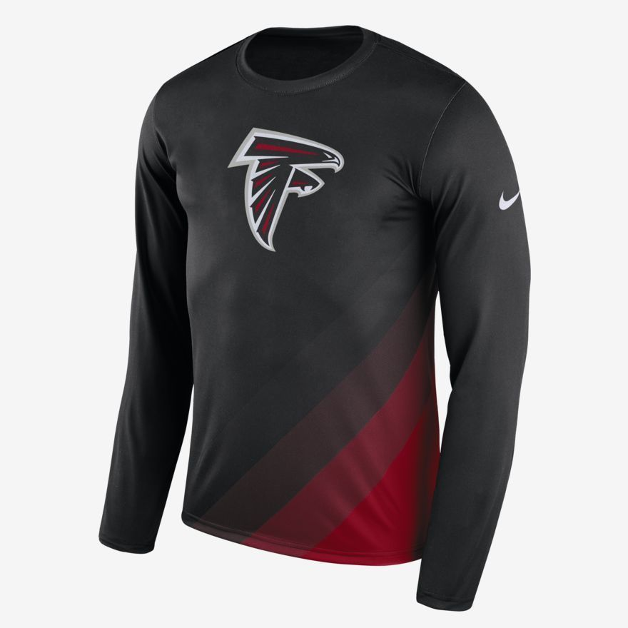 Nike NFL Atlanta Falcons Dri-FIT Legend Prism Mens Shirt M Black 875121 010   Nike  AtlantaFalcons 0e0c9e8b0ab9