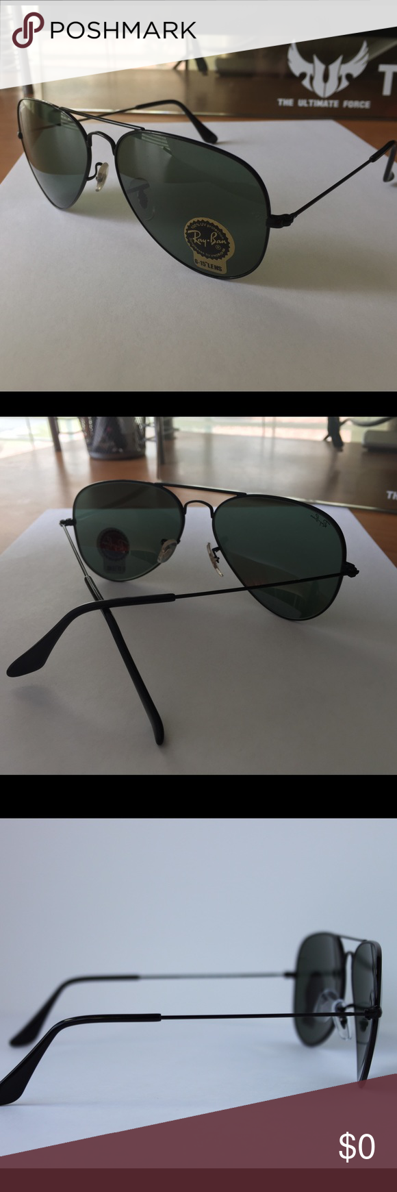Additional pictures RB3035 L2823 Additional pictures for Ray-Ban classic aviator sunglasses in black Ray-Ban Accessories Glasses
