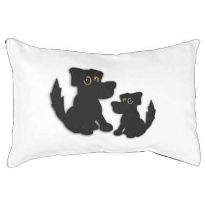 #Black Dog Family Pet Bed - #dogbeds #dogbed #puppy #dog #dogs #pet #pets #cute #doggie
