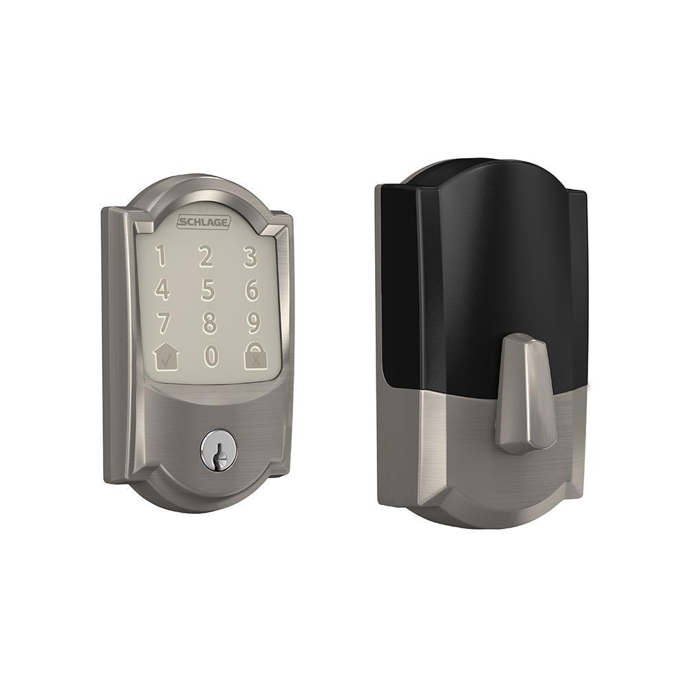 Schlage Camelot Encode Smart Wifi Door Lock with Alarm in