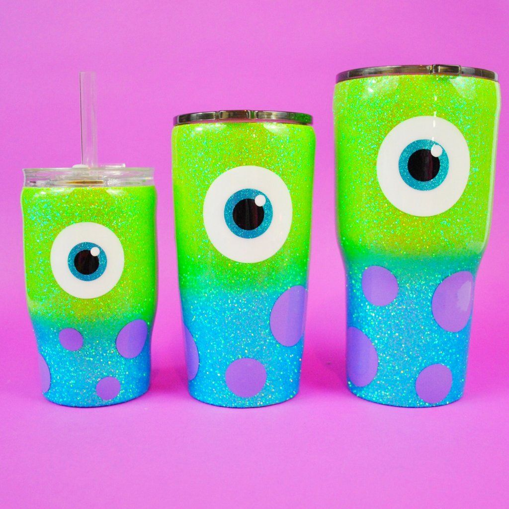 Monsters Kids and Adult Cups #disneycups