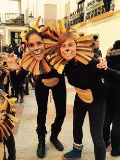Disfraz Leon Sencillo Buscar Con Google Lion Kingaristocats
