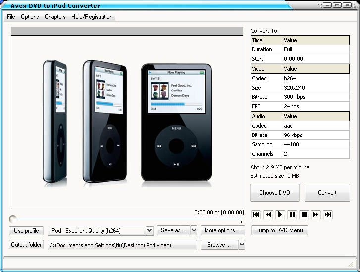 Avex DVD To IPod Video Suite