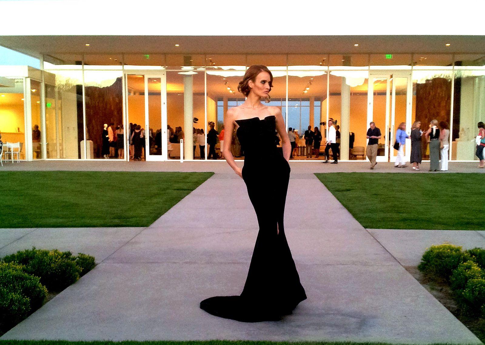 Lloyd Klein Evening Gown   Flickr - Photo Sharing!