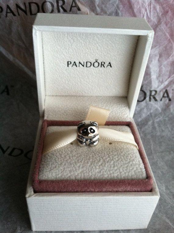 panda pandora ciondolo originale