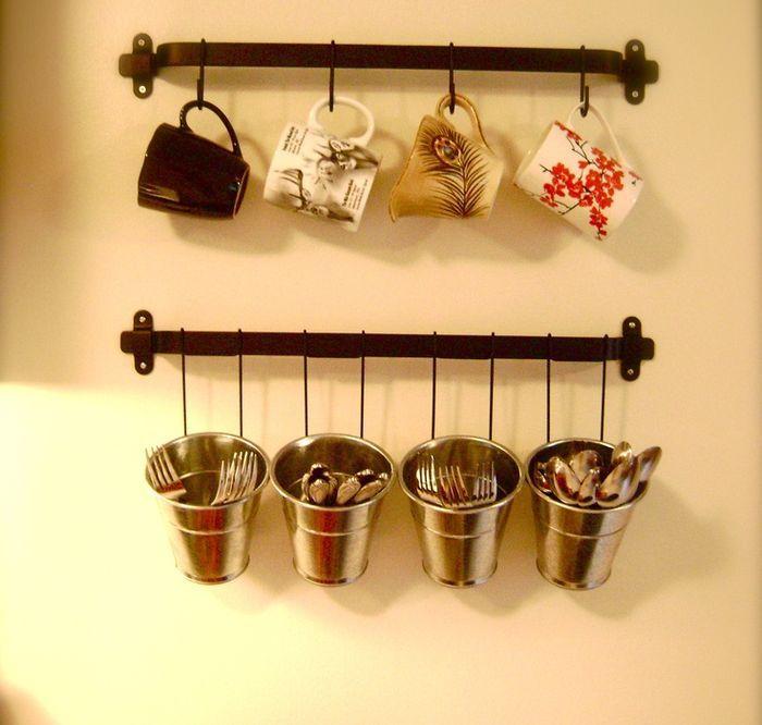 Незаменимые ведерки в интерьере комнат | Organizing Ideas | Pinterest