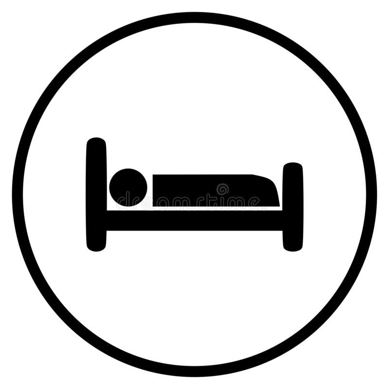 Hotel Bed Icon In Circle Bed Symbol Flat Icon In Circle For Hotel Cabin Or Sl Sponsored Ad Sponsored Icon Hotel Cab Circle Symbol Icon Hotel Bed