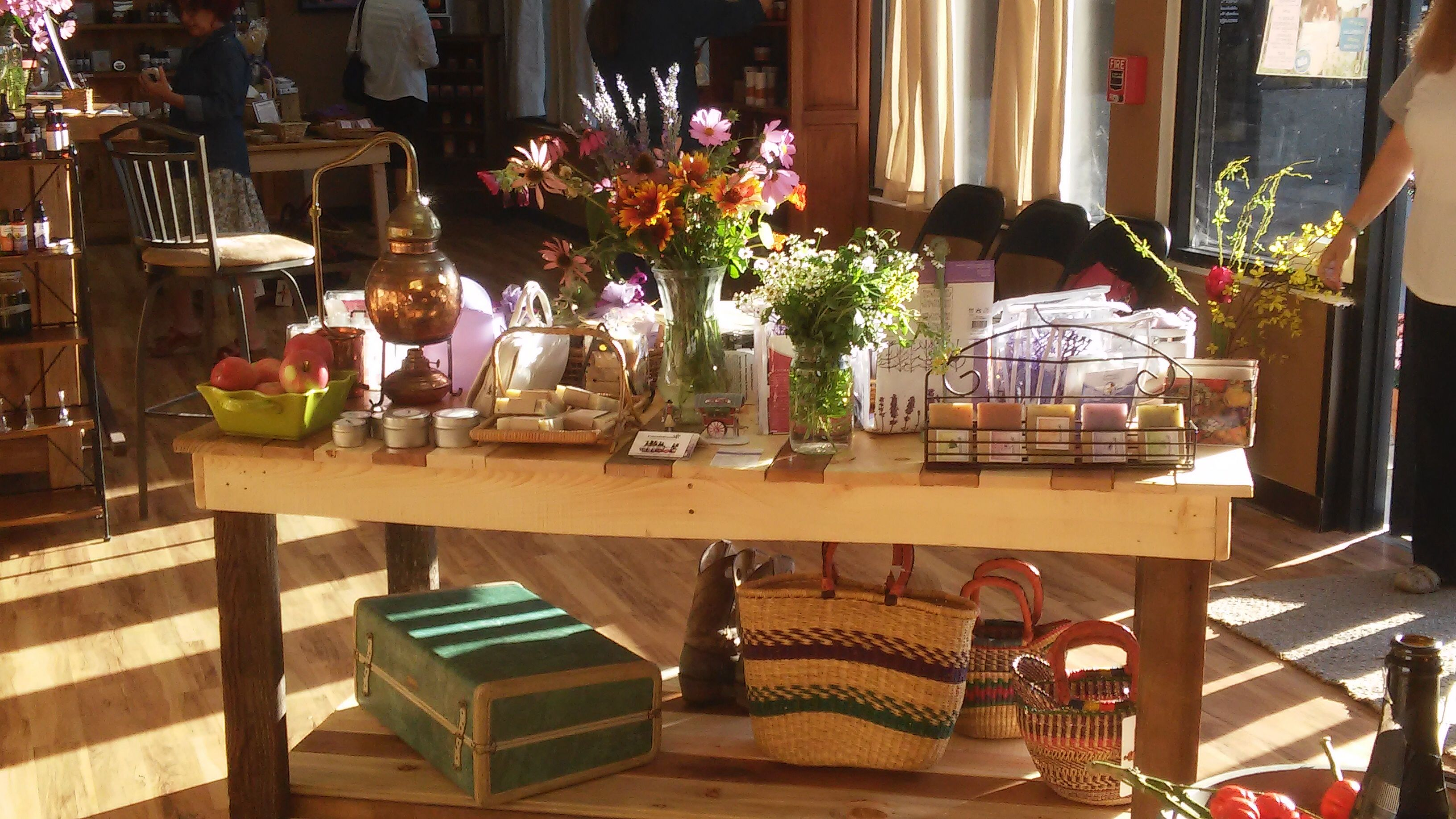 Love the light that comes in our store windows http://www.coloradoaromatics.com.