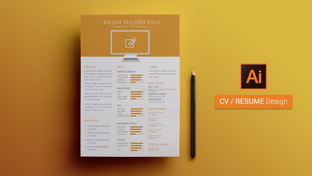 How to Create a CV RESUME