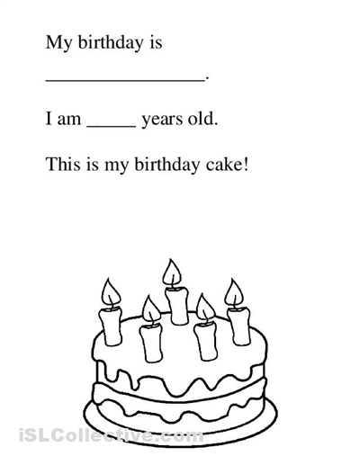 Birthday Free Kindergarten Worksheets Kindergarten Phonics Worksheets Kindergarten Printables