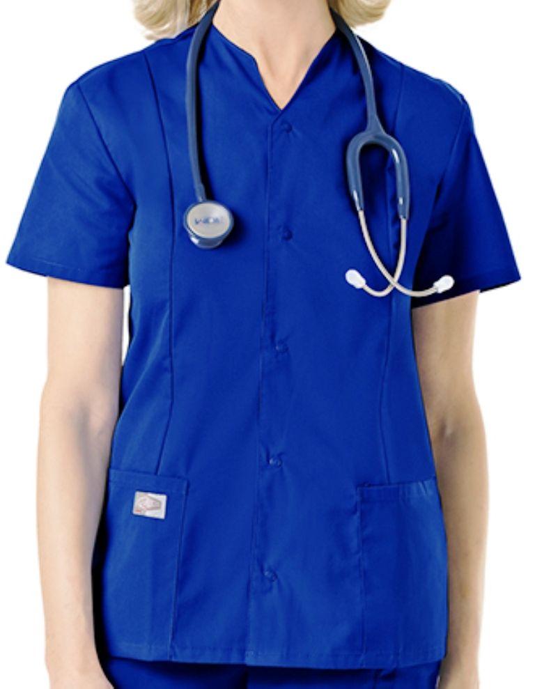 Cool Ceil Blue Scrub Jacket