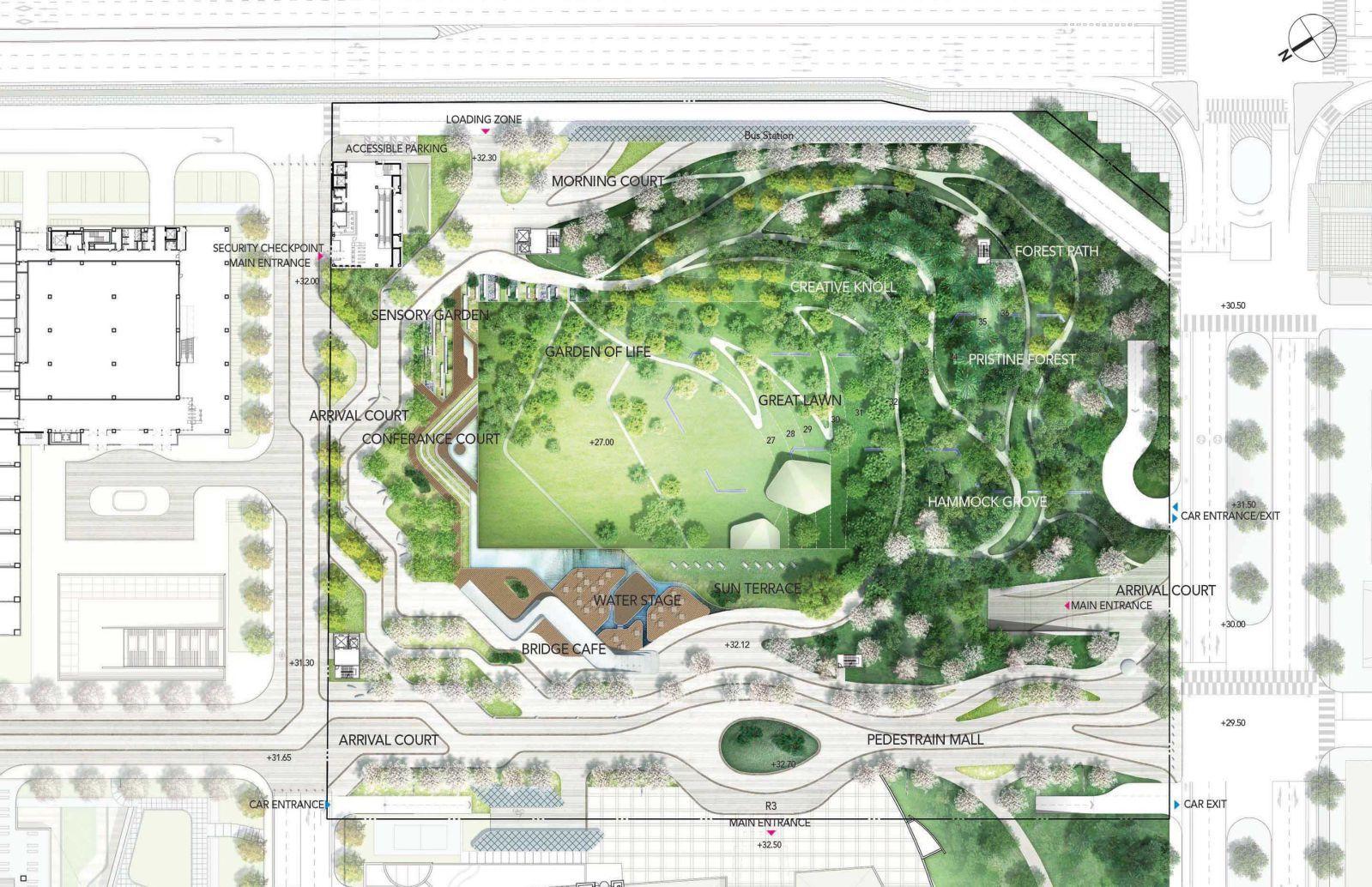 Pristine Forest By H Architecture Landscape Architecture Plan