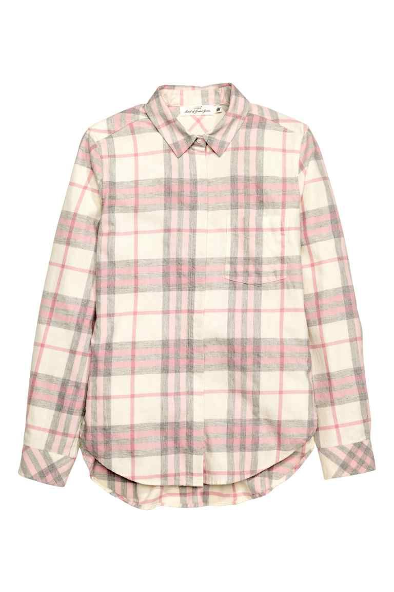 Flannel jacket with wool lining  Flannel shirt  Shirts Flannel shirts and Buttons
