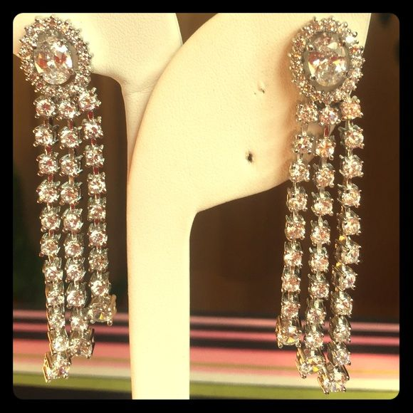 Earrings Stunning high quality sparkling earrings Jewelry Earrings