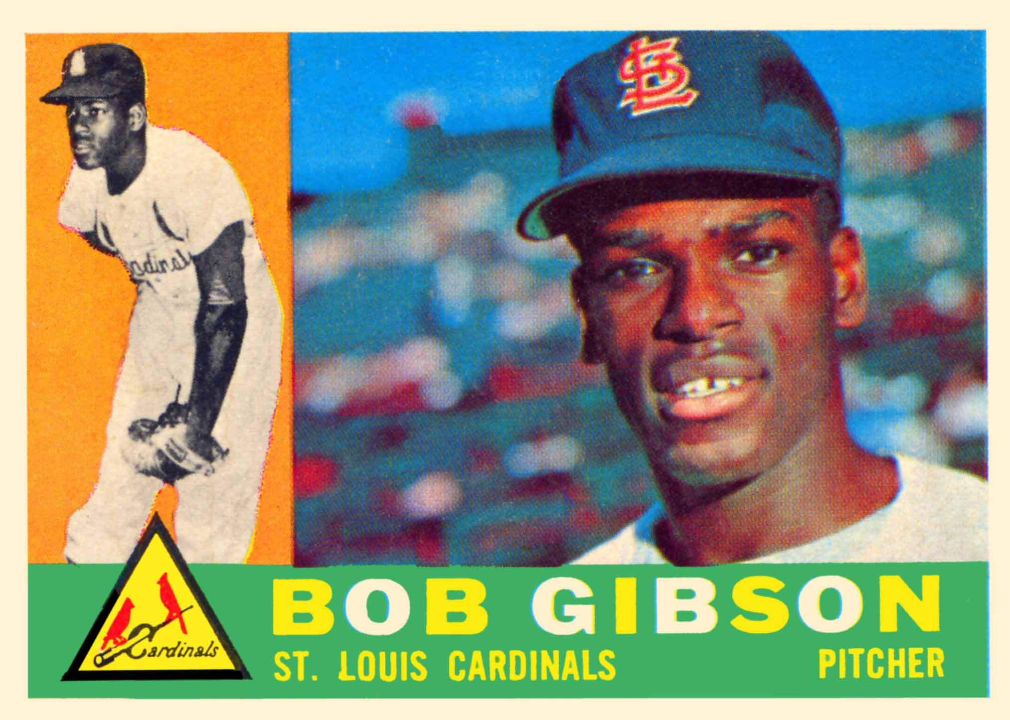 Bob Gibson Rookie Baseball Card Google Search Baseball Cards
