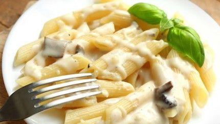 طريقة عمل الباستا بالصوص الابيض Recipe Recipes Cooking Food