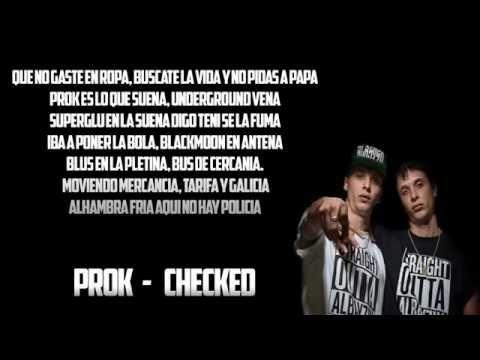 Prok Checked Letra