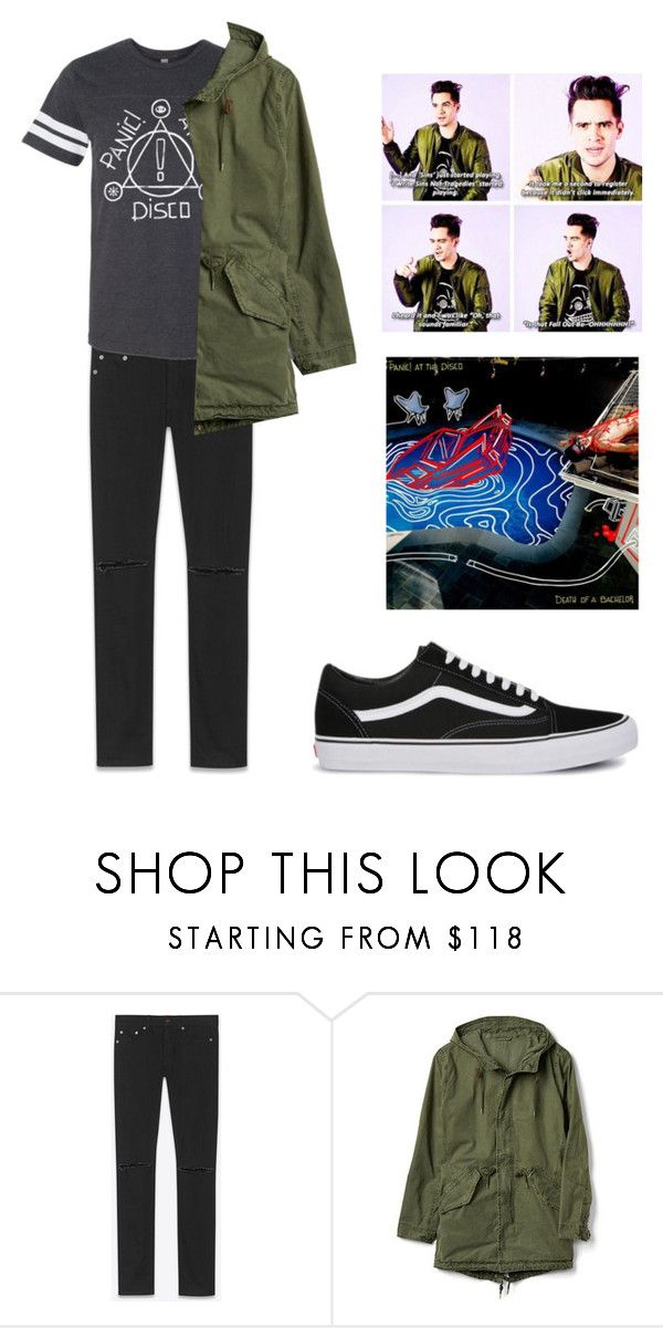 """""""Nicotine love"""" by slowsilence ❤ liked on Polyvore featuring Yves Saint Laurent, Gap, Vans, men's fashion and menswear"""