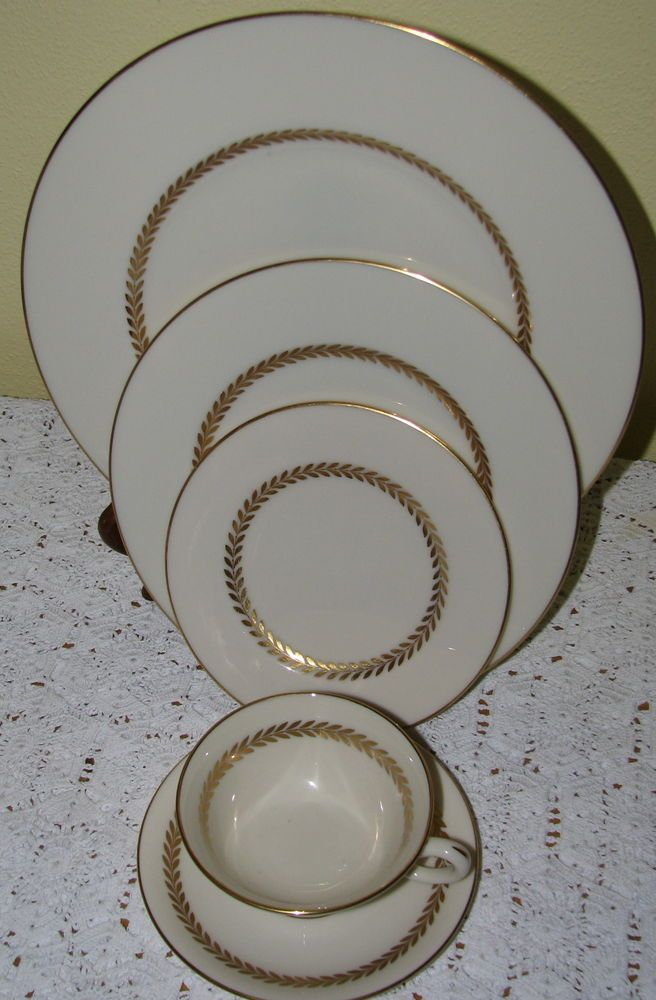 49pc Lenox Imperial P338 China Include Place Settings Vegetable