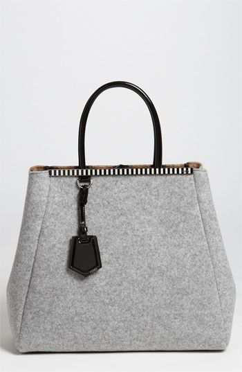 Fendi  2Jours - Large  Felted Wool Shopper available at  Nordstrom ... c79a0f0f8973d