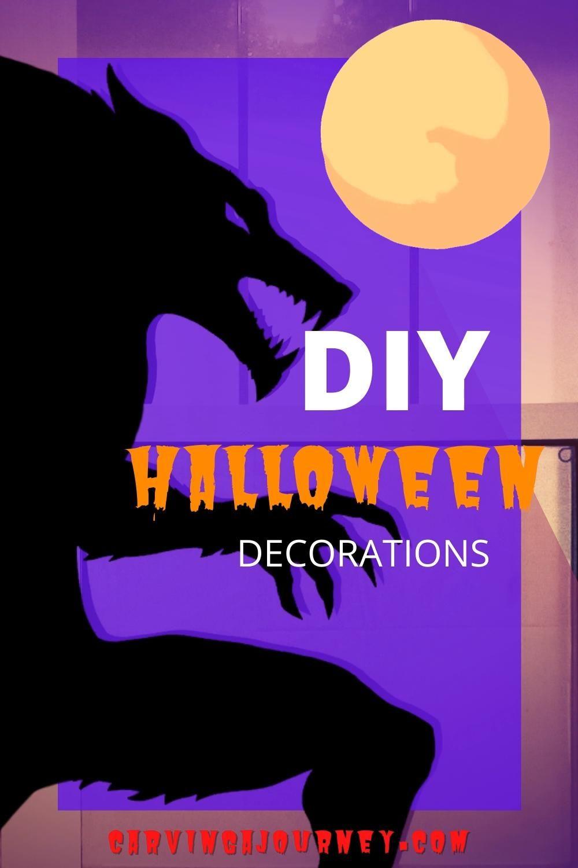 Photo of DIY Halloween Decorations: Window Silhouette
