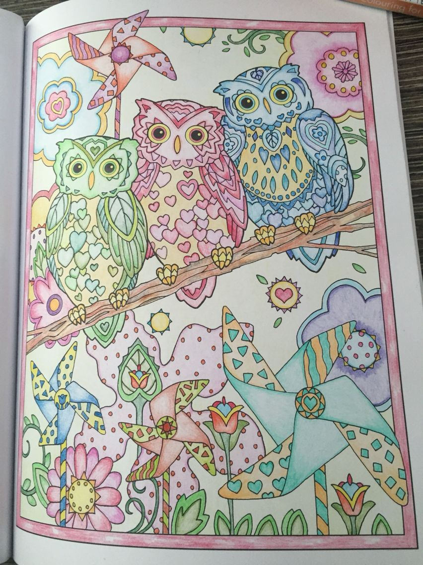 creative haven owls 22