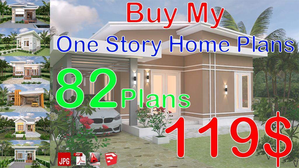 Best House Design 10X12 With 3 Bedrooms Terrace Roof În 2020 400 x 300