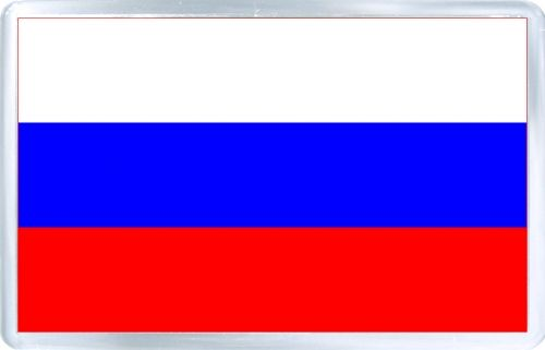 Acrylic Fridge Magnet Russia Flag Of Russia Russia Flag Russian Flag Flags Of The World