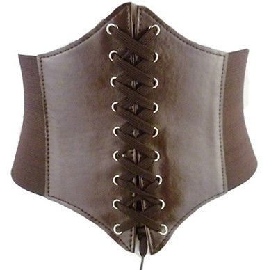 steampunk cincher corset belt  leather corset belts for