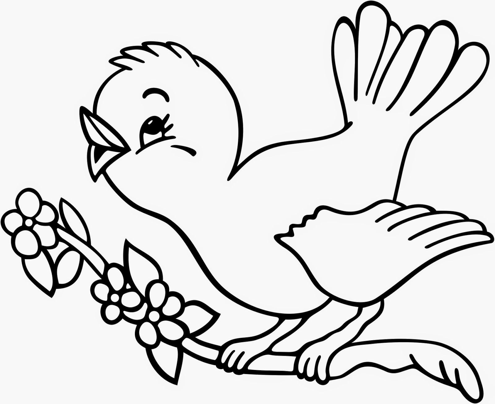 Coloring Page Parrot | Coloring Pages | Pinterest