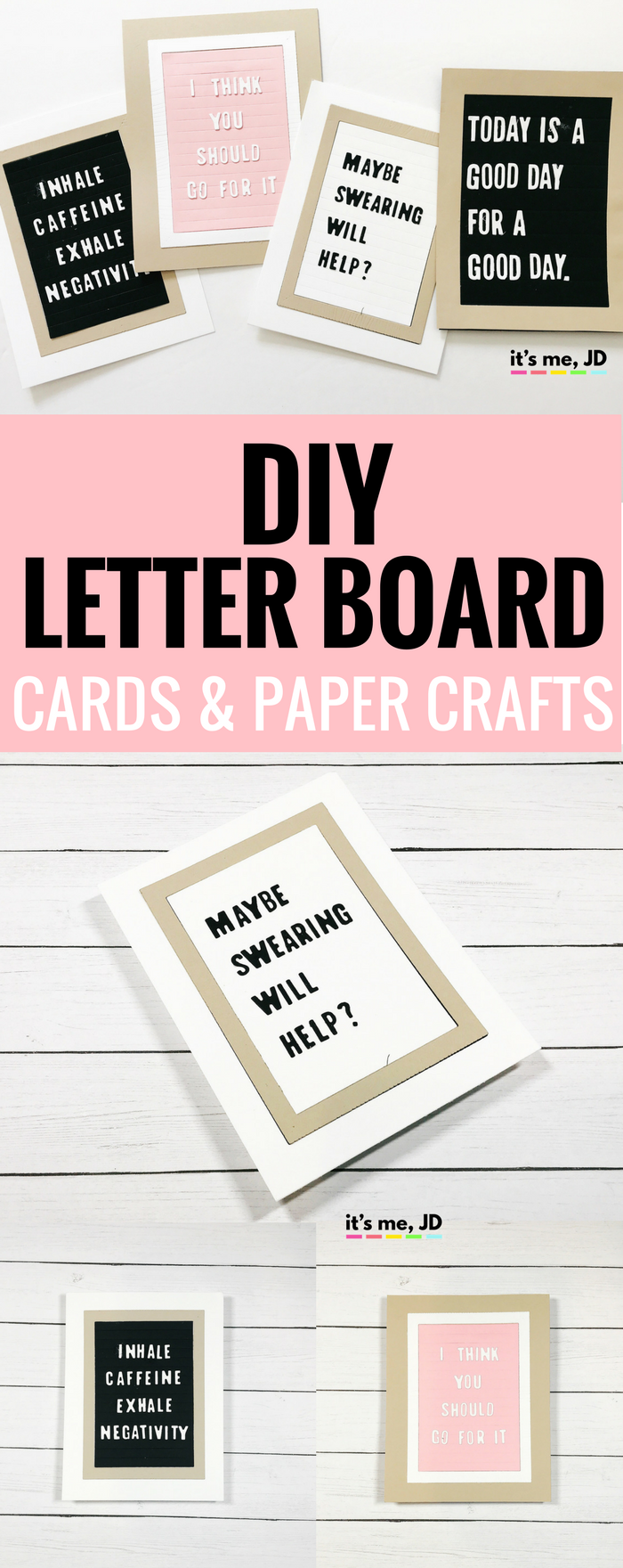 Diy Letter Board Cards And Paper Crafts Ideas Diy Letter Board Paper Crafts Lettering