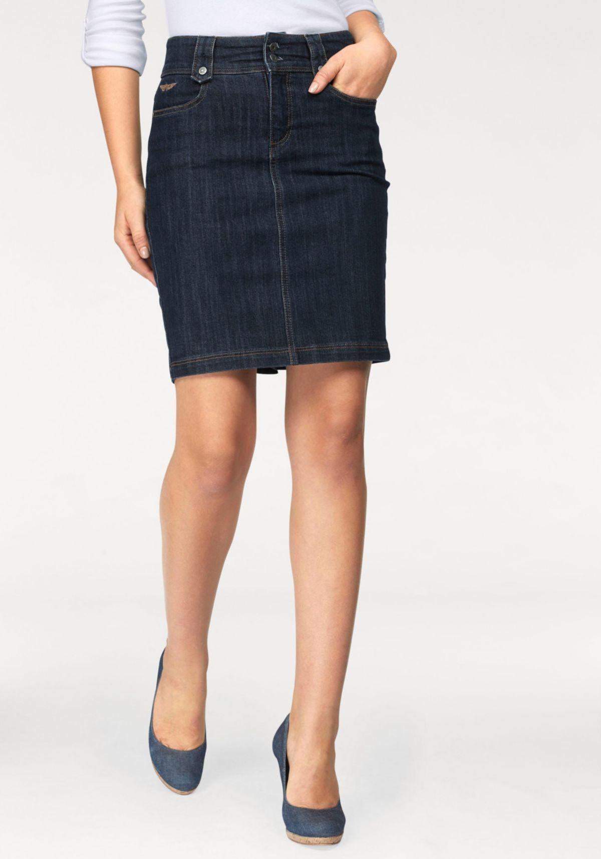 87acd665524 Arizona Jeansrock »Pencil-Skirt