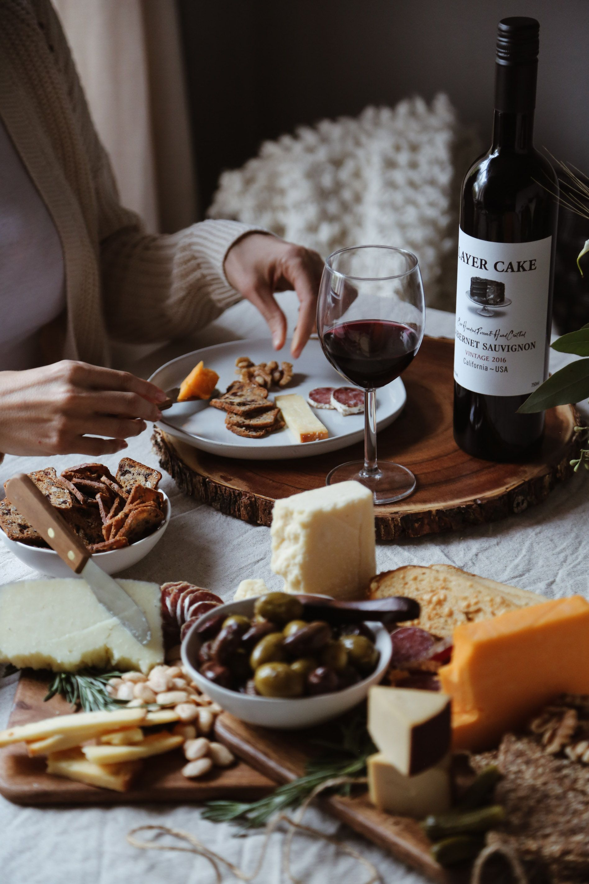 A fall wine cheese tasting party wine tasting party