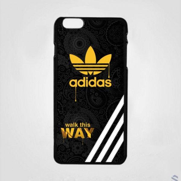 Adidas Gold Walk This Way Custom Design iPhone Cases Case