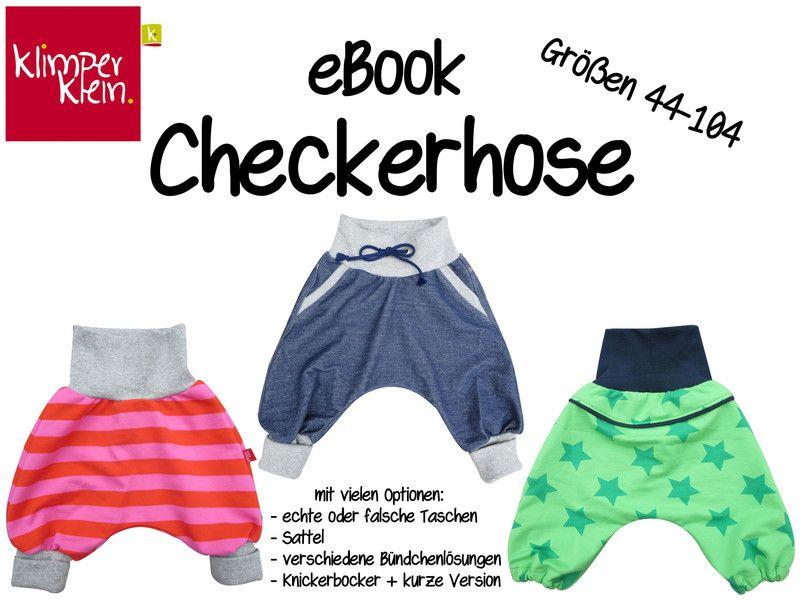 eBook Checkerhose 44-104 Schnittmuster Anleitung | Anleitungen ...