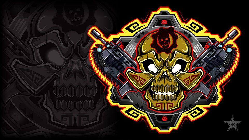 Hernandez Gears Of War Gears Skull Design