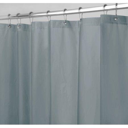 Interdesign Mildew Free Peva 3 Gauge Shower Liner Various Sizes