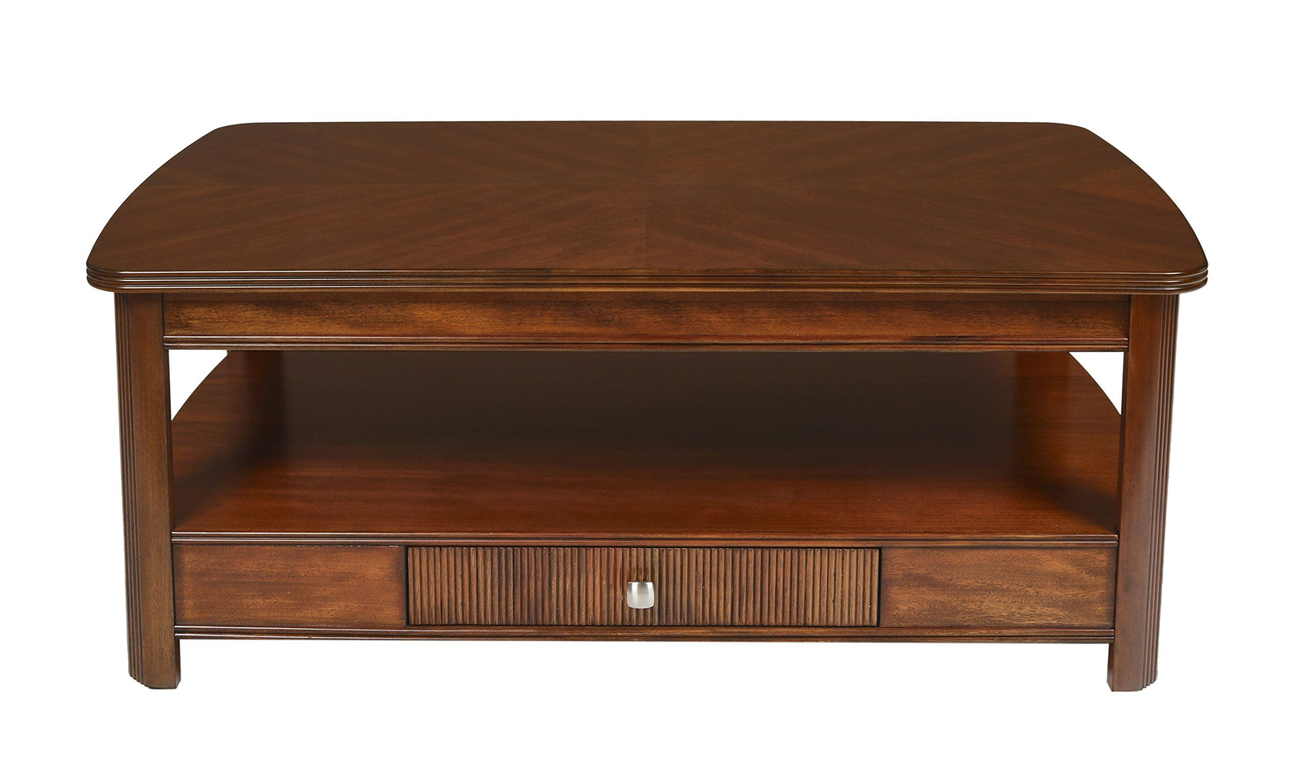 New Classic Leighla Lift Top Cocktail Table African Chestnut For More Information Visit Image Link This Is A Lift Top Coffee Table Cocktail Tables Table [ 1522 x 2560 Pixel ]