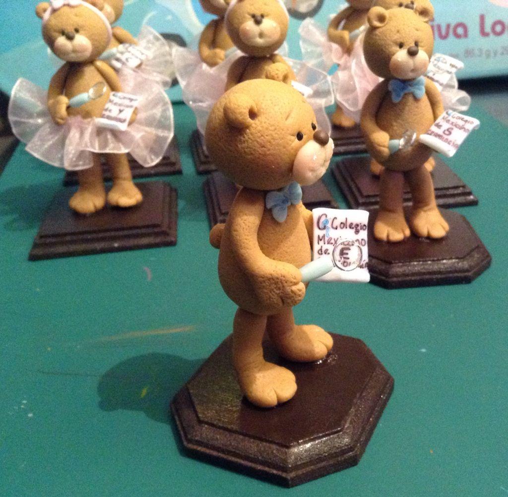 OSO GRADUADO DE PASTA FLEXIBLE.By Elvia Padilla  Contacto: elii.padilla@hotmail.com