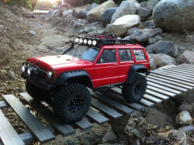 98 Jeep Zj Shtfv Expedition Portal Rc Crawler Course Rc