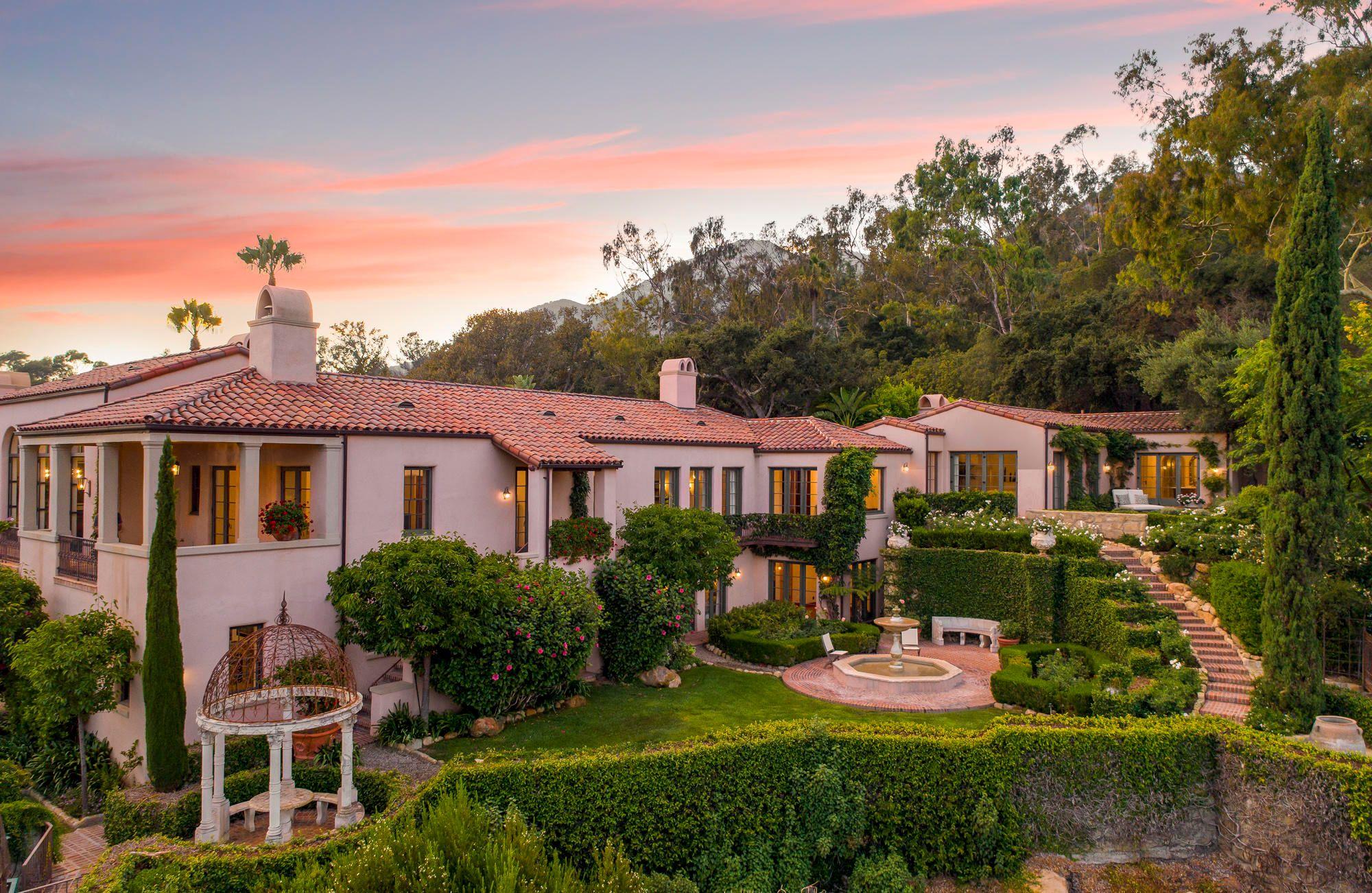1050 Cold Springs Rd In 2020 Santa Barbara House Spanish Style Homes Santa Barbara