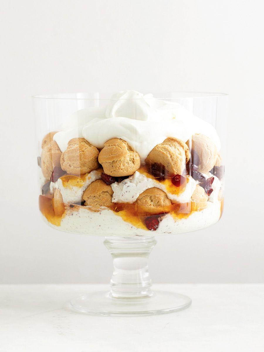 trifle shot for Martha Stewart Living. linda pugliese photography