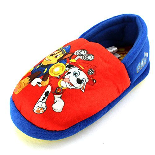Paw Patrol Toddler Boy slippers children /& kids shoes
