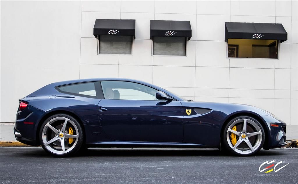 Ferrari Ff With Custom Wheels By Cec In Los Angeles Ca Click To View More Photos And Mod Info Custom Wheels Ferrari Custom