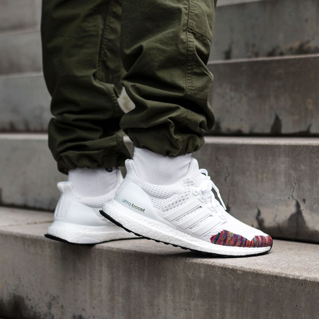 a884fdd51 Adidas UltraBOOST LTD White   Multicolor