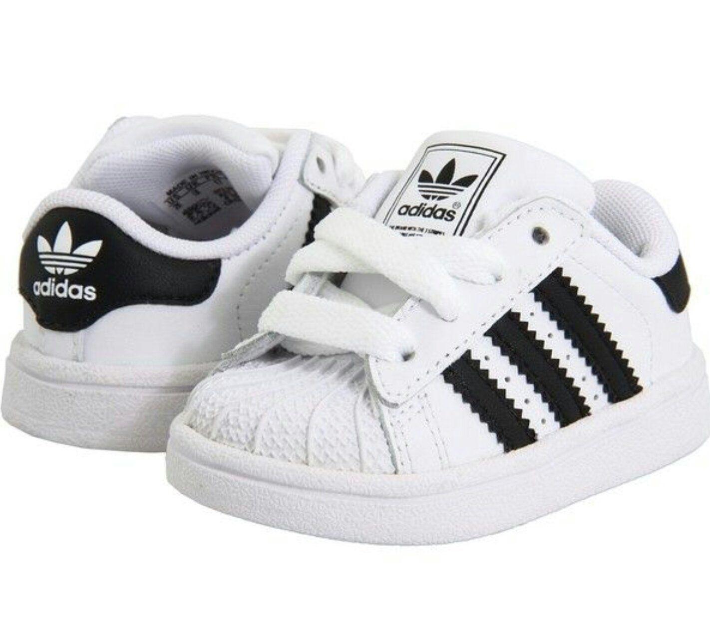 adidas Infant Superstar (White)