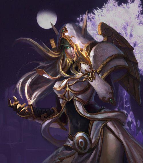 Blood Elf Priest - World of Warcraft